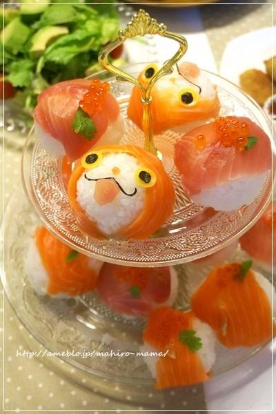 妖怪ウォッチ ジバニャンの手毬寿司