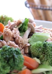 キャベツナ温野菜サラダ