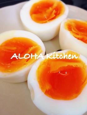 簡単!失敗なしのとろ〜り半熟卵の作り方!