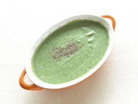 グリーン豆乳ポタージュ
