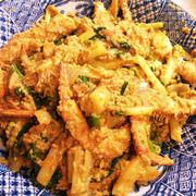 プーパッポンカリー(蟹のカレー炒め)の写真