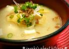 豆腐、生揚げ、玉ねぎの味噌汁