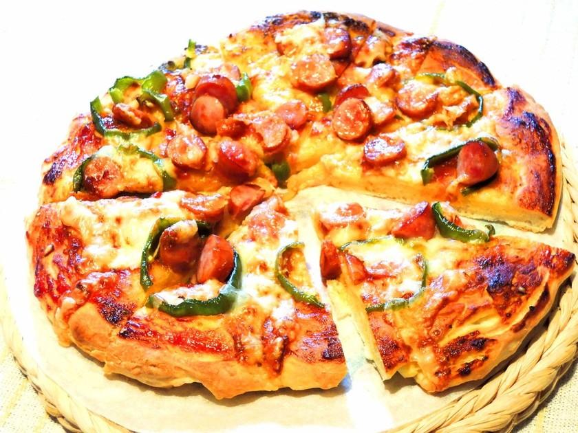 超簡単*美味しいピザ生地の作り方!