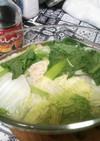 レンジでお手軽湯豆腐