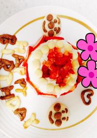 離乳食☆一歳バースデーケーキ♡