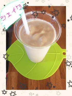 簡単!デザートに豆腐コーヒーシェイク