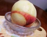 桃のむき方と変色どめ+番外編『桃尻♡』の写真