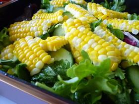 黄色サラダ ~ハチミツ・マスタードで♪