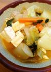 チゲ風おかずスープ