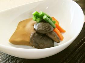 ツナ入り高野豆腐と干し椎茸のあまから煮