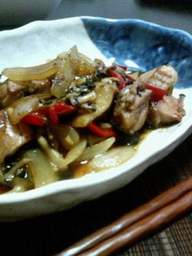 簡単☆鶏肉の韓国風炒め