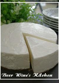 ふんわりレアチーズ風ケーキ