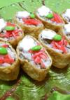 稲荷寿司(ひじきの煮物の余りで~)