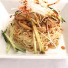 カレー風味バンバンジー麺
