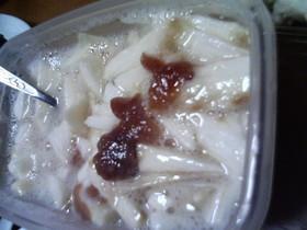 長芋の梅酢漬け