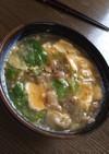 中華風残り物スープ