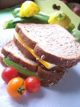 Zucchiniのサンドウィッチ