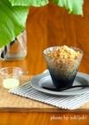 ミルクコーヒーのかき氷