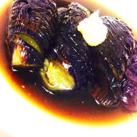 簡単トロットロお手抜き茄子の煮浸し