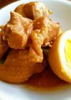 甘糀で鶏もも肉と卵のさっぱり煮