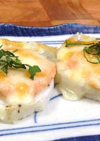 【旭×椙】自然薯のチーズ焼き