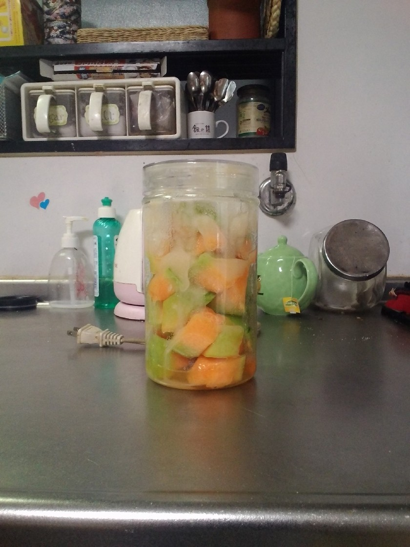 メロンの酵素ジュース