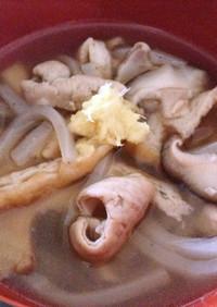 おばあ直伝!沖縄料理「中身汁」