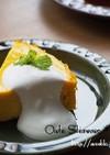 混ぜるだけで濃厚♡かぼちゃのチーズケーキ