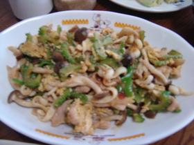 ゴーヤチャンプル(塩だれ味)