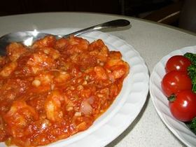 乾焼明蝦(カンシャオミンシャー)