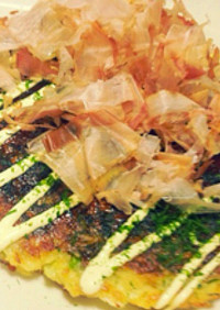 【旭×椙】自然薯♥お好み焼き風