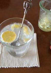 簡単☆レモネード☆レモンの砂糖漬け