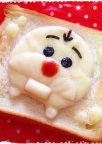 *オラフ(ツムツムver.)トースト*