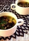夏バテ解消!美味し〜いモロヘイヤスープ