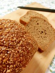 【小麦ふすま発酵種】しっとりふすまパンの写真