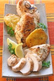 ハーブレモン✿鶏胸肉deローストチキン✿の写真