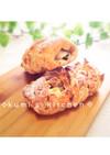 ライ麦パン♡くるみとクリームチーズ♡HB