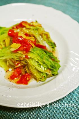 レタス・ステーキの温サラダ