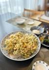 セロリの葉大量消費☆簡単緑のかき揚げ