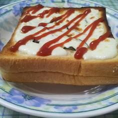 バジルチーズトースト