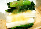 簡単☆長芋と小松菜の明太子あえ♪
