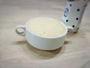 **カルピスミルク蒸しパン**HMレンジの写真