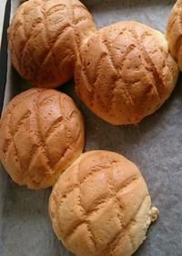 薄力粉 de メロンパン