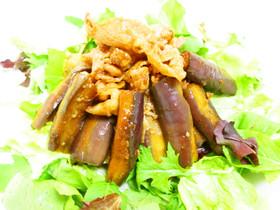◎スタミナ抜群◎肉と茄子のおかずサラダ
