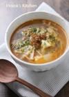 トムヤムペーストで♪豆腐とエノキのスープ