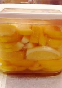 簡単広島レモンで塩レモン(o^^o)