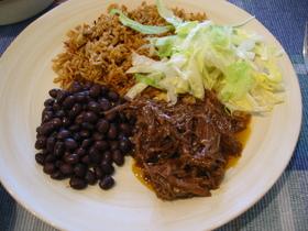 メキシカン牛の煮込み(サルサ使用)