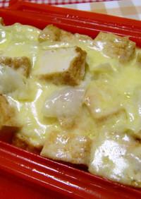 ★簡単!厚揚げとキャベツのチーズ蒸し煮♪