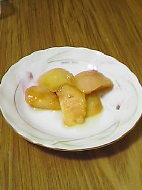 桃のシロップ煮