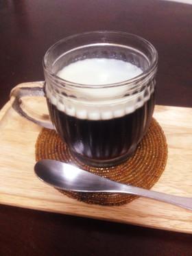 ドリップから作る大人のコーヒーゼリー♪